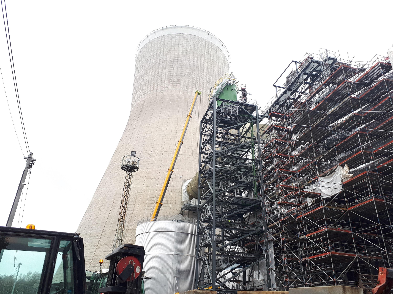 Budowa bloku 496 MW w Elektrowni Turów. fot. Budimex