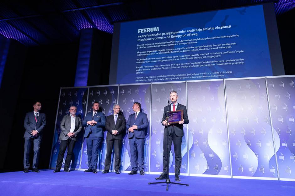 Firma Feerum otrzymała wyróżnienie za profesjonalne przygotowanie i realizację śmiałej ekspansji międzynarodowej - od Europy po Afrykę.