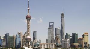Katastrofa budowlana w centrum Szanghaju