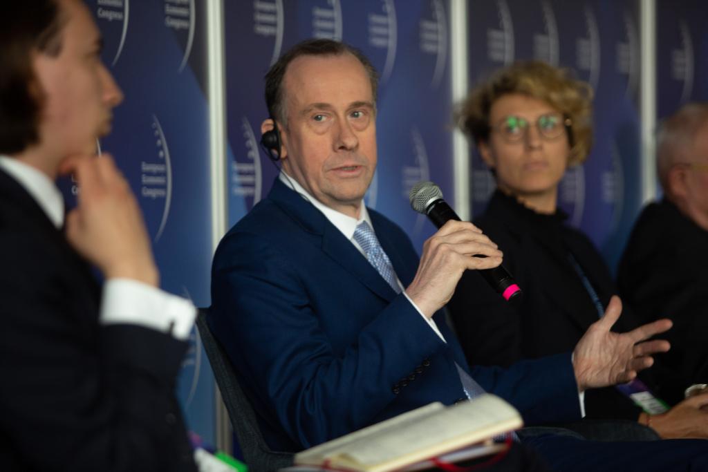 Lord Martin Callanan: chcemy opuścić Unię Europejską, ale nie chcemy wypisywać się z Europy. Gospodarczo będziemy nadal państwem europejskim. Fot. PTWP