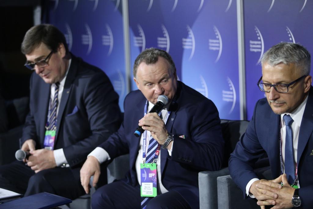 Ireneusz Merchel, prezes PKP Polskich Linii Kolejowych (fot. PTWP)