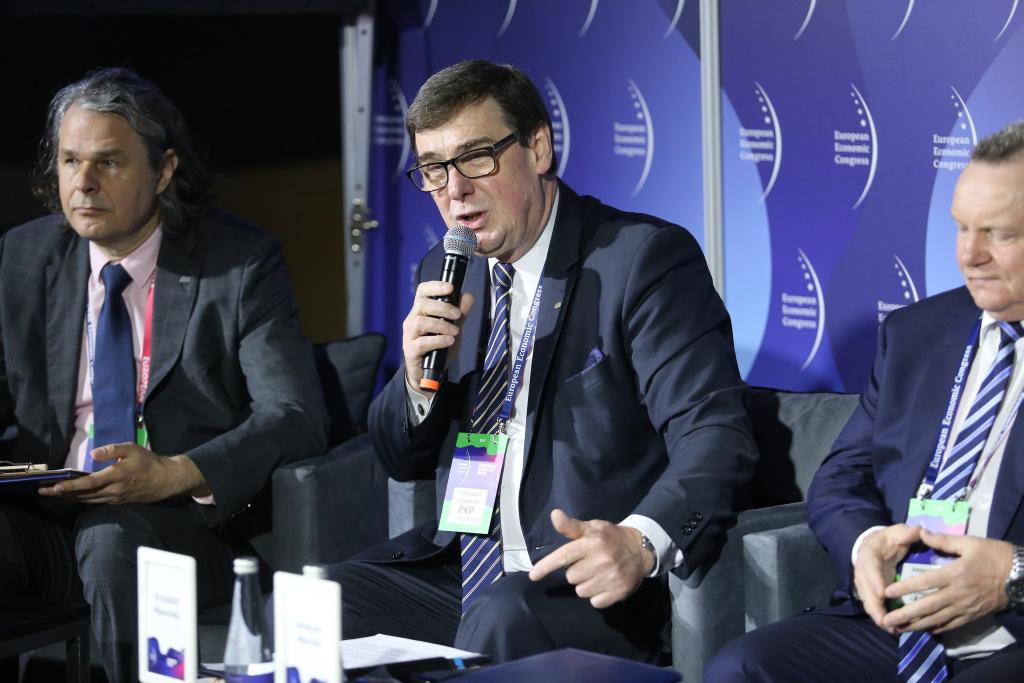 Krzysztof Mamiński, prezes Grupy PKP (fot. PTWP)