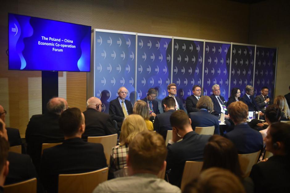 Forum współpracy gospodarczej Polska-Chiny na Europejskim Kongresie Gospodarczym 2019. Fot. PTWP