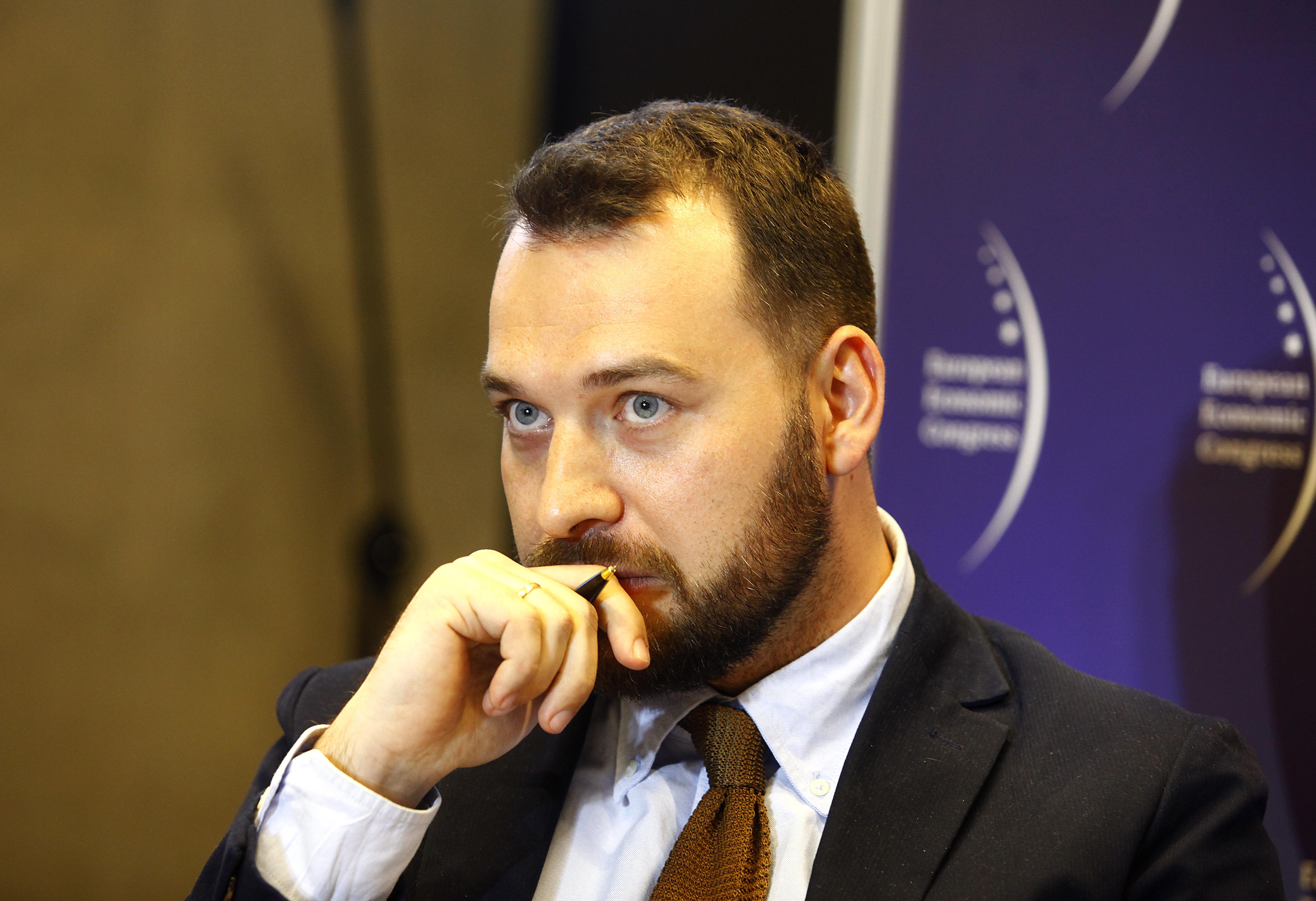 Dyrektor Polskiego Instytutu Ekonomicznego Piotr Arak (fot. PTWP)