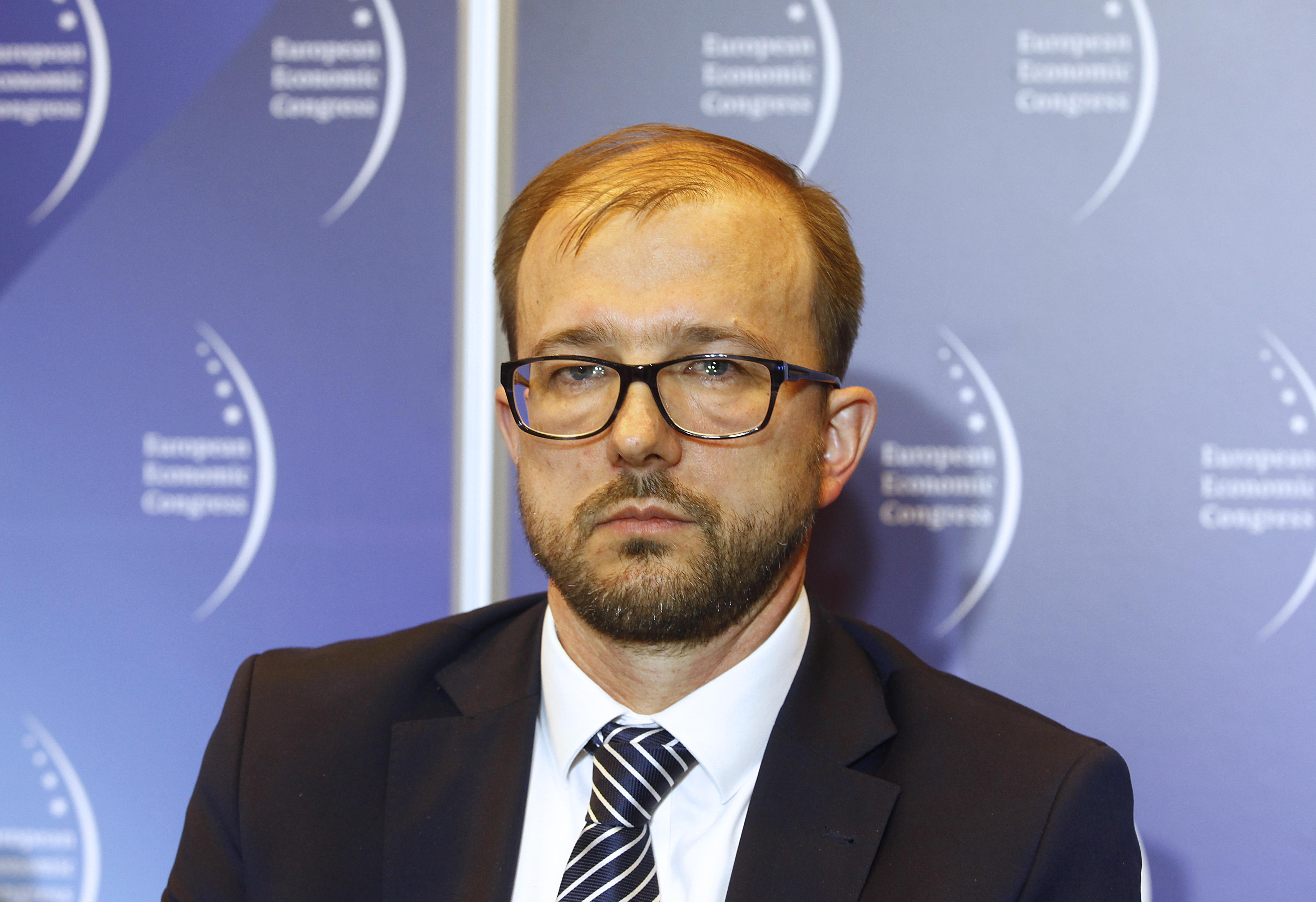 Prezes Sieci Badawczej Łukasiewicz Piotr Dardziński (fot. PTWP)