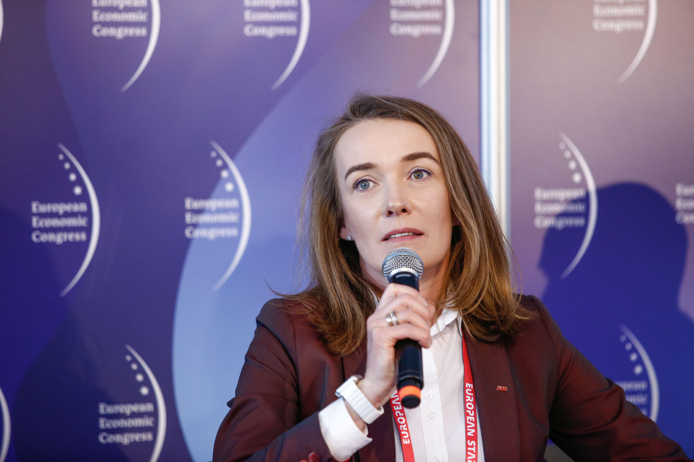 Magdalena Malewska, dyrektor marketingu i sprzedaży w segmencie Biznes Elektryfikacji w ABB (fot. PTWP)