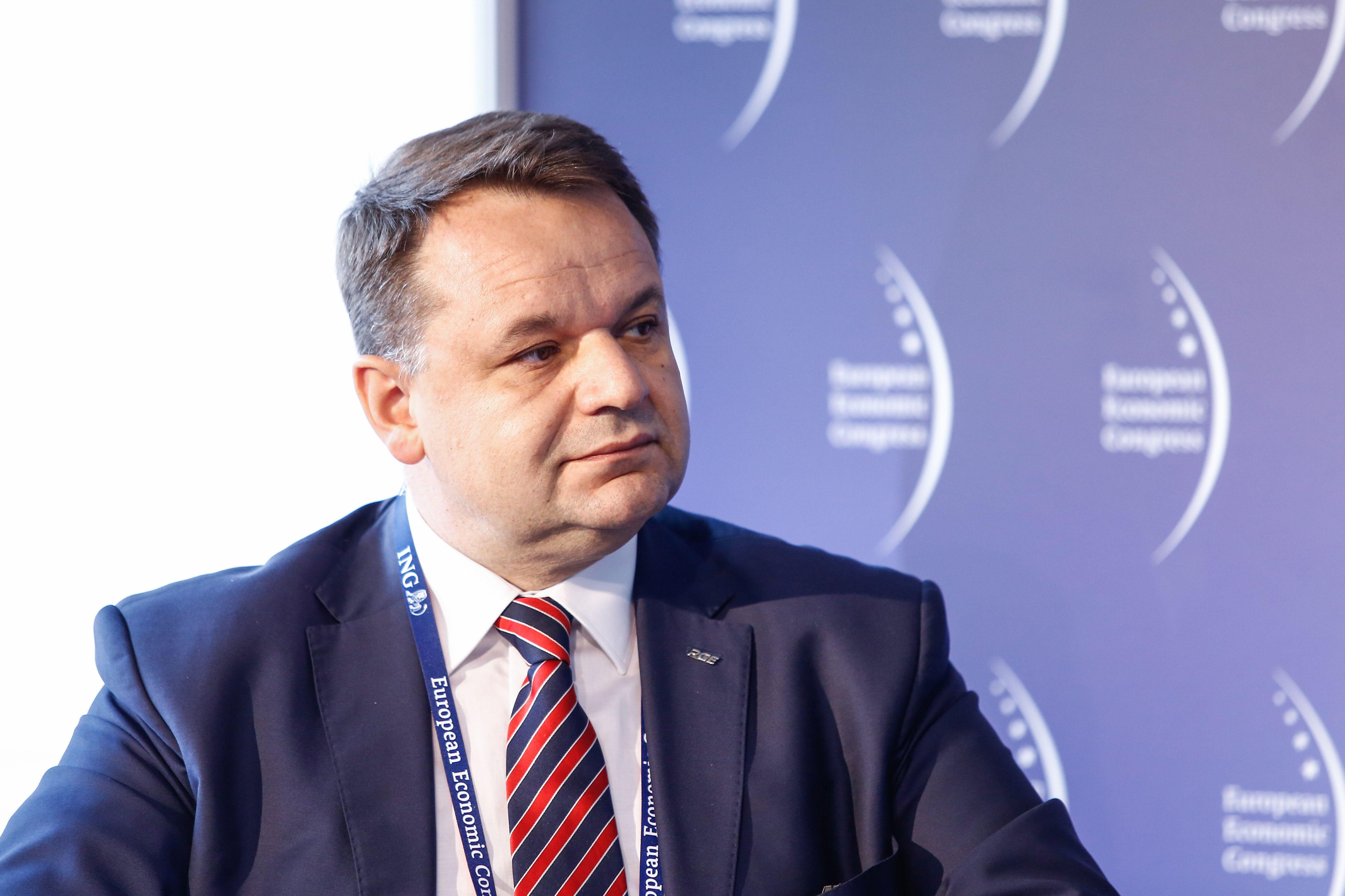 Paweł Śliwa, wiceprezes ds. innowacji w PGE Polskiej Grupie Energetycznej (fot. PTWP)