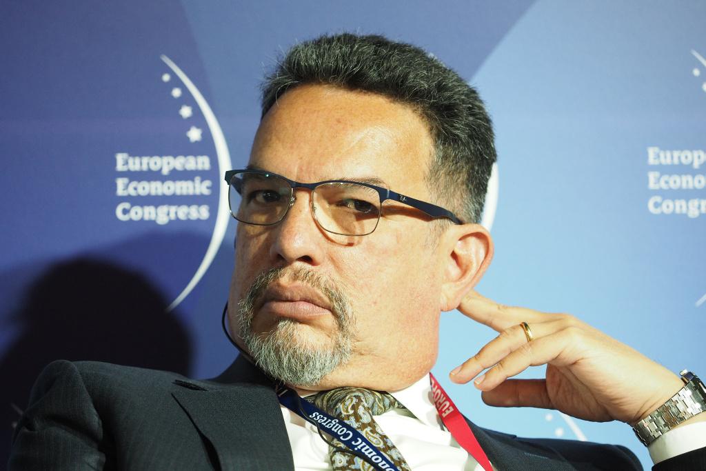 Carlos Piñerúa, przedstawiciel Banku Światowego na Polskę i kraje bałtyckie