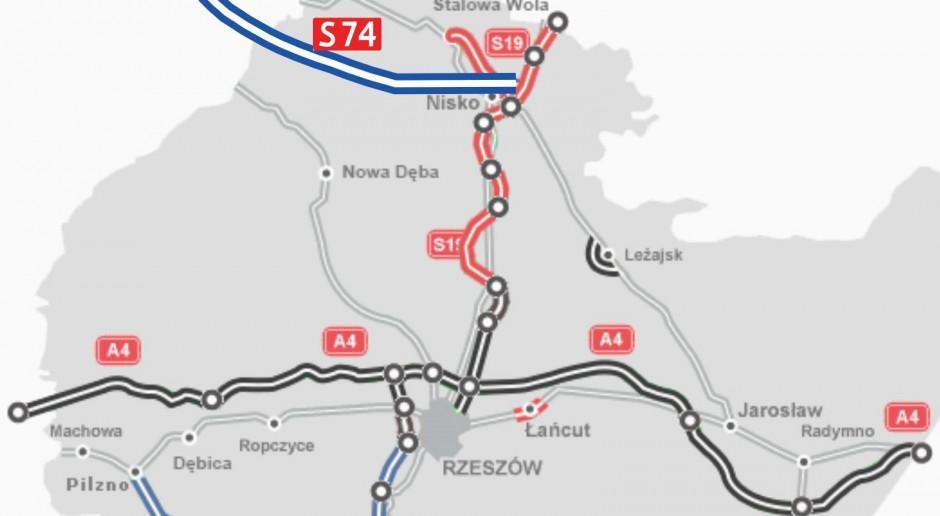 Bliżej do budowy drogi ekspresowej S74