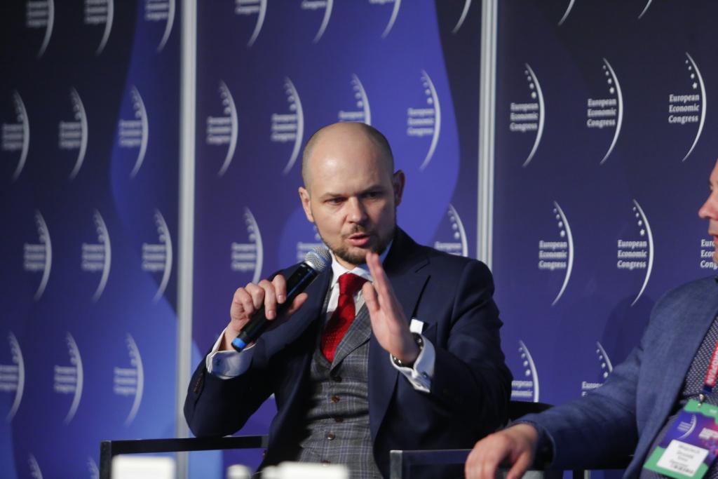 Jarosław Broda, wiceprezes zarządu ds. zarządzania majątkiem i rozwoju w Tauron Polska Energia. Fot. PTWP
