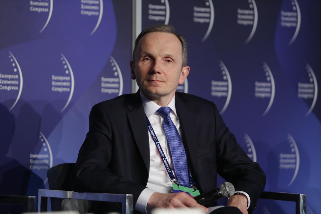 Mariusz Kondraciuk, dyrektor Siemens Smart Infrastructure w strukturach Siemensa w Polsce. Fot. PTWP