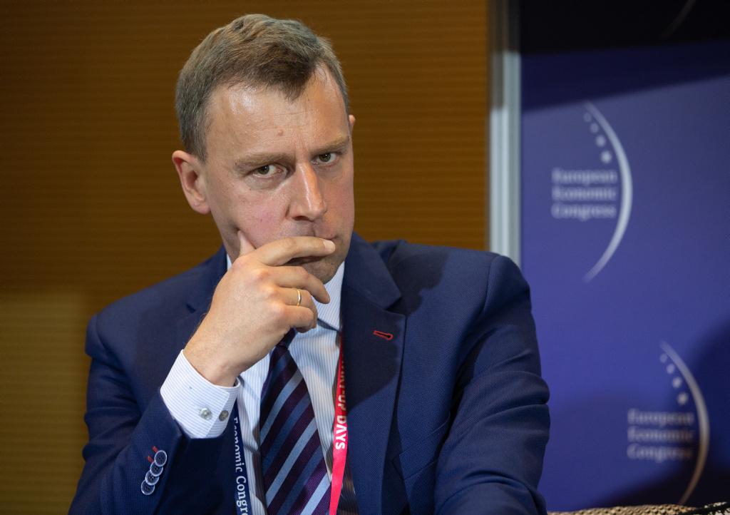 Rafał Bator, partner Enterprise Investors (fot. PTWP)