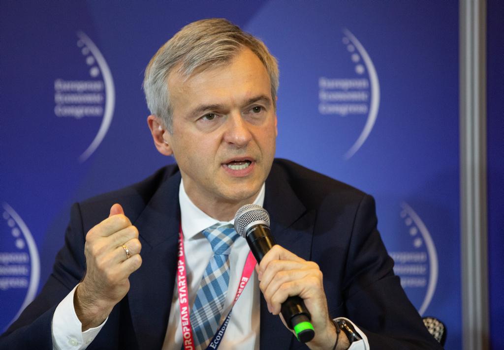 Bartłomiej Pawlak, wiceprezes zarządu Polskiego Funduszu Rozwoju (fot. PTWP)