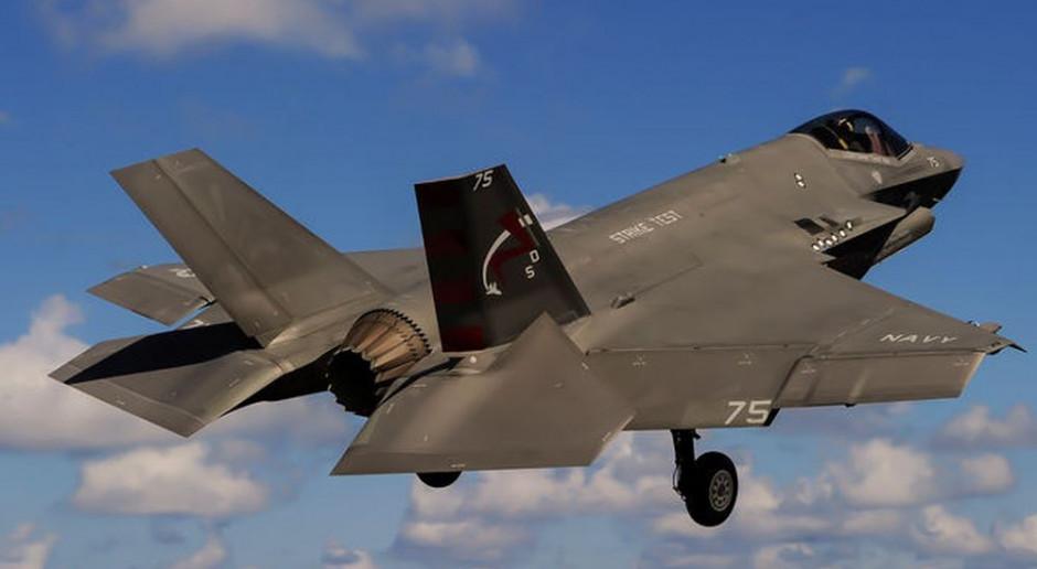 Harpia w dwóch etapach. Pierwsza eskadra F-35 do 2026 roku