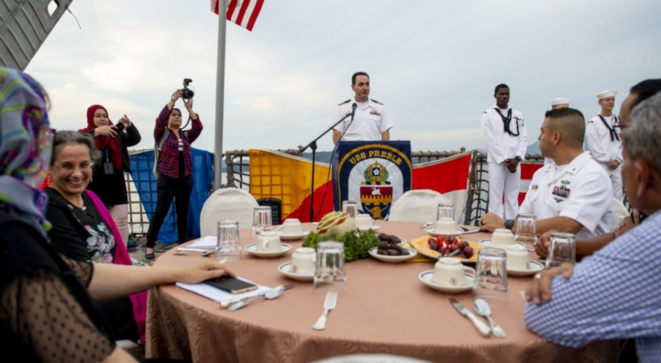 Kolejny rejs okrętów marynarki wojennej USA przez Cieśniną Tajwańską