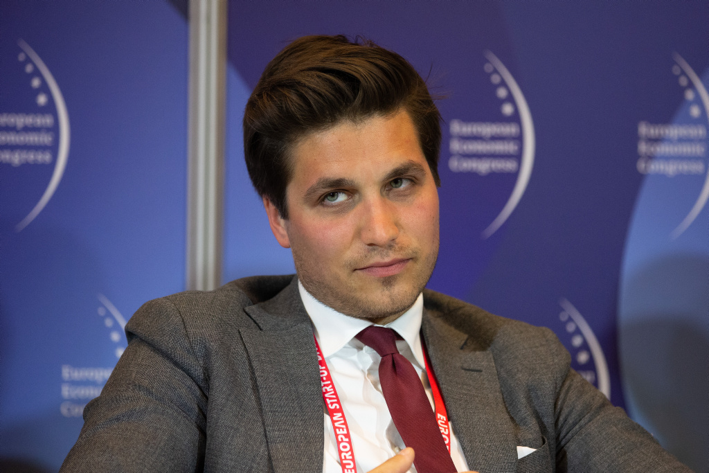 Łukasz Lisicki, Policy Officer, Komisja Europejska. Fot. ptwp.
