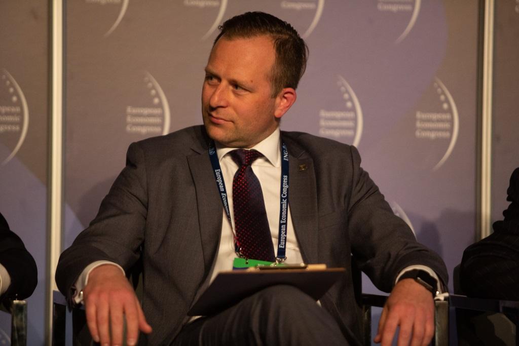 Marcin Osowski, wiceprezes zarządu ds. infrastruktury w Zarządzie Morskiego Portu Gdańsk. Fot. PTWP
