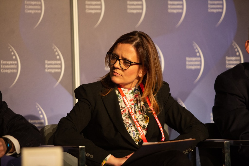 Aneta Szreder-Piernicka, dyrektor ds. handlowych Zarządu Morskich Portów Szczecin i Świnoujście. Fot. PTWP