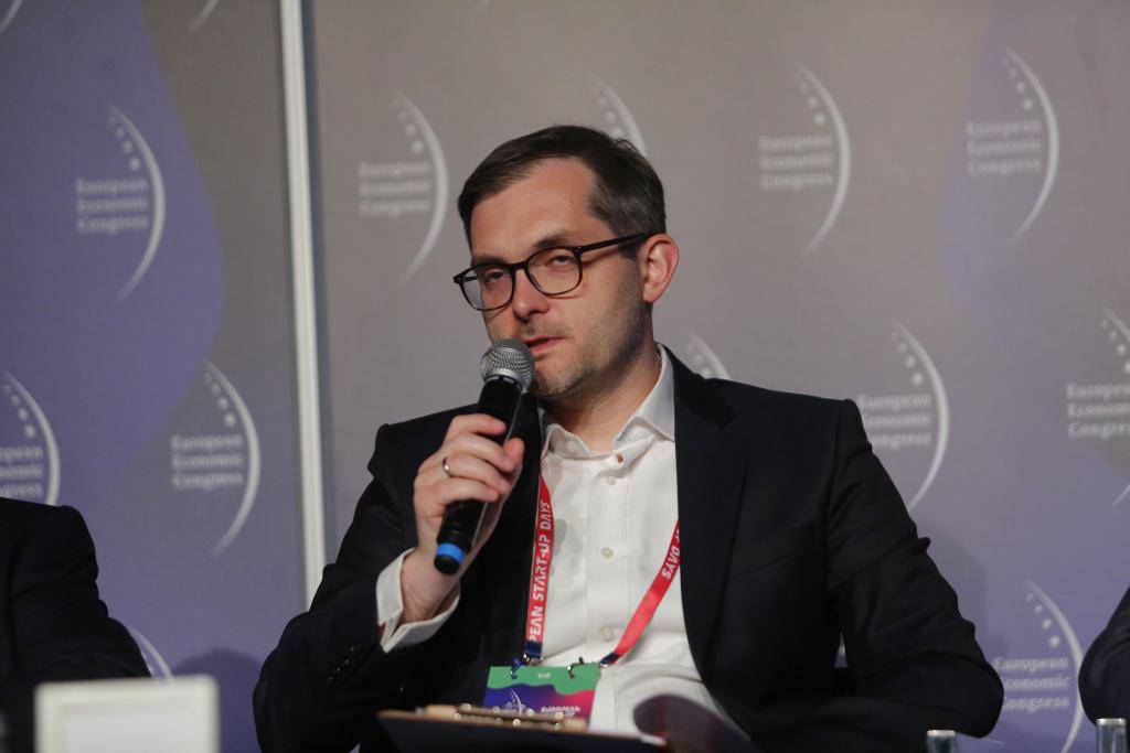 Marek Niedużak, podsekretarz stanu w Ministerstwie Przedsiębiorczości i Technologii. Fot. PTWP