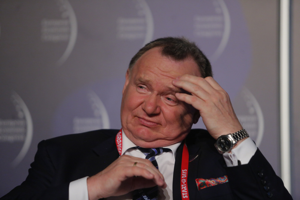 Ireneusz Merchel, prezes zarządu, PKP Polskie Linie Kolejowe. Fot. PTWP