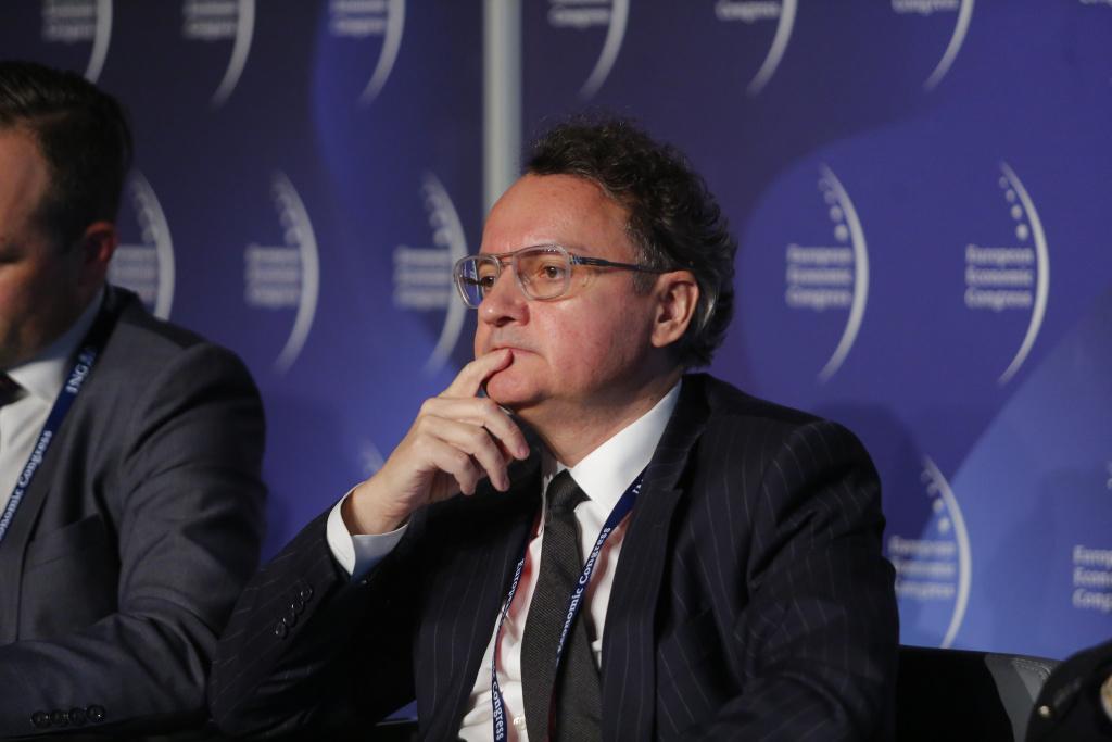 Piotr Serafin, dyrektor Departamentu Inwestycji Infrastrukturalnych Polskiego Funduszu Rozwoju. Fot. PTWP