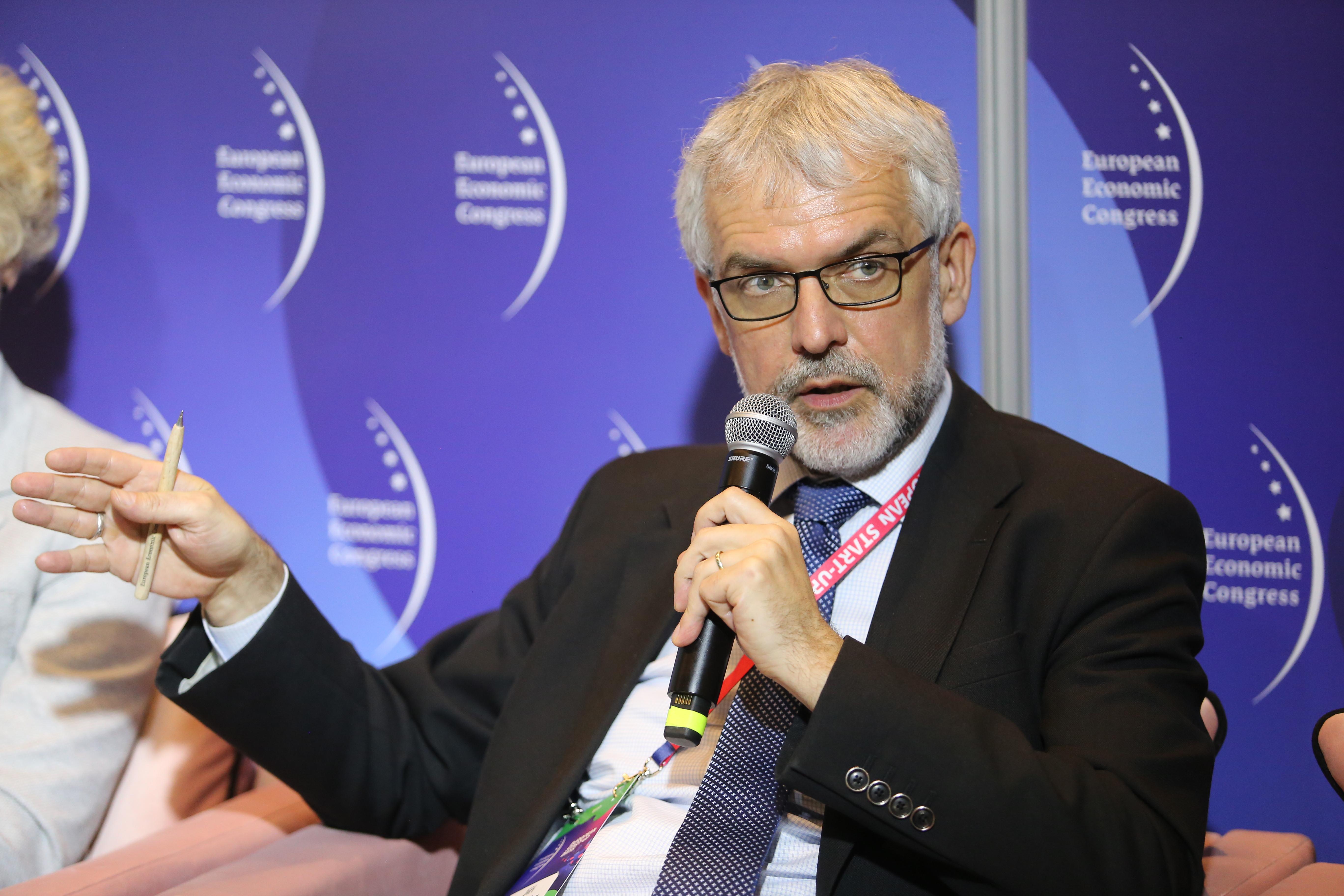 Dyrektor wykonawczy Aspen Institute Central Europe Jiří Schneider (fot. PTWP)