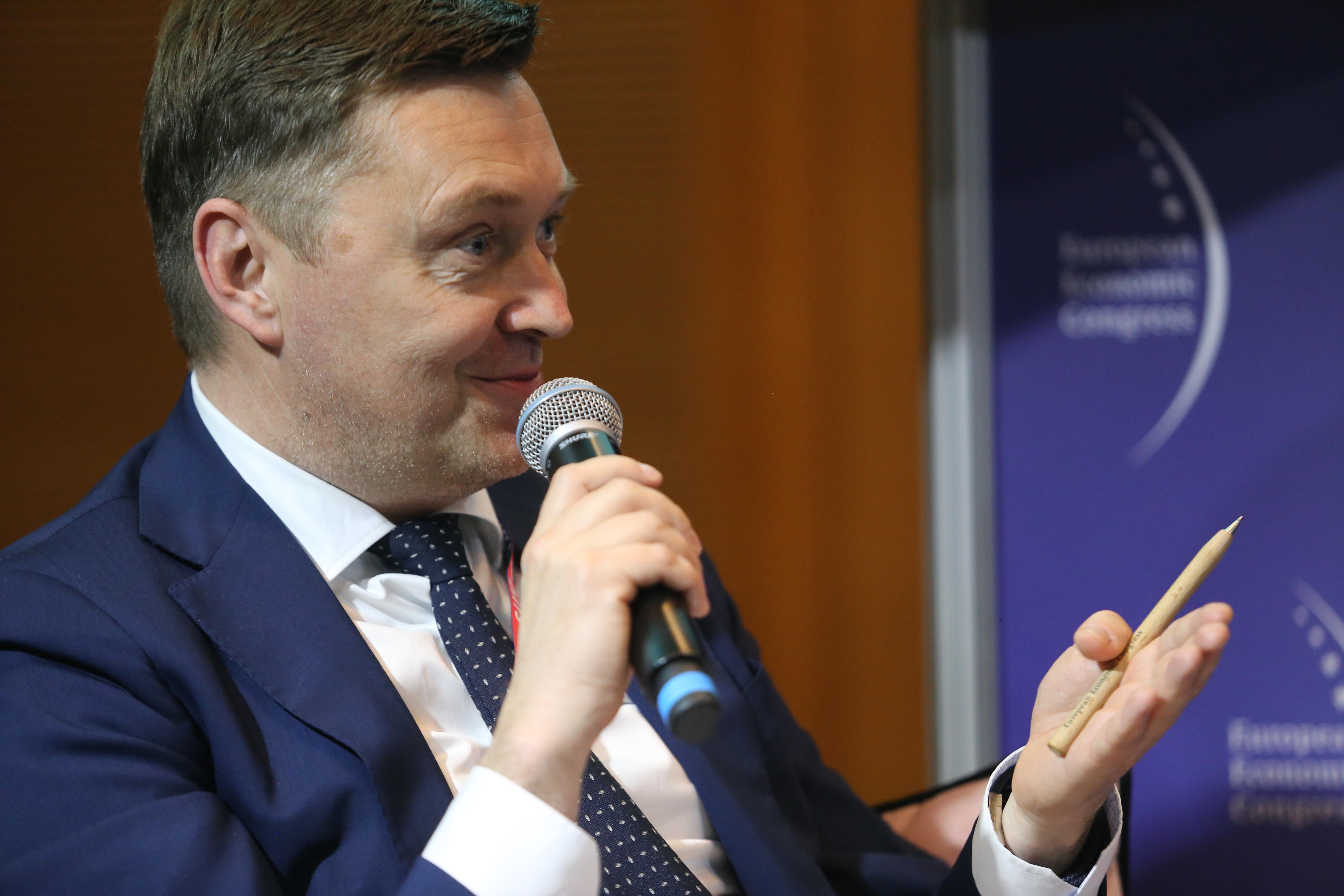 Jacek Czerniak, Global Subsidiares Group Head w Citi Handlowy (fot. PTWP)