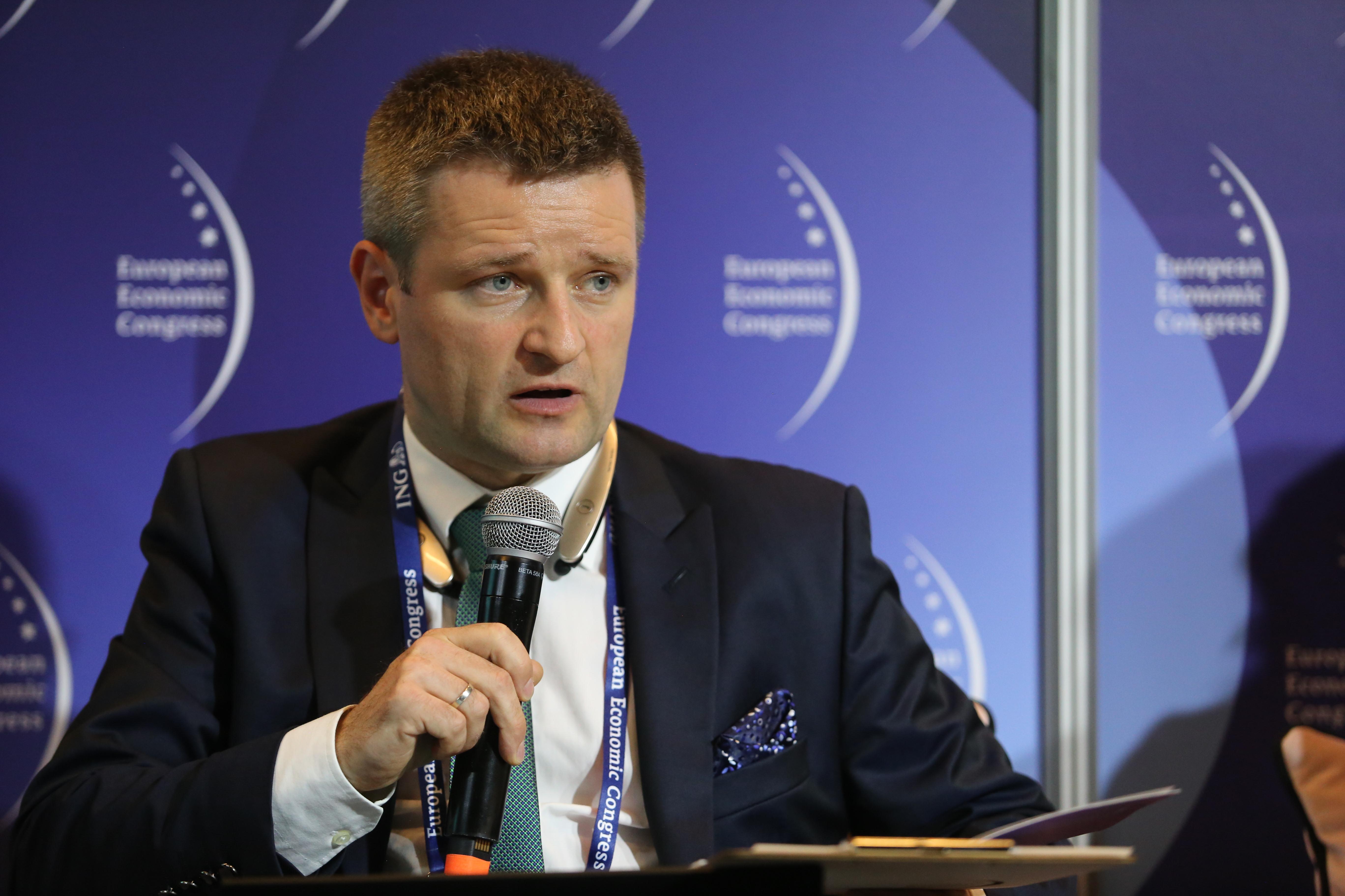 Michał Motylewski z warszawskiego biura firmy prawniczej Dentons (fot. PTWP)