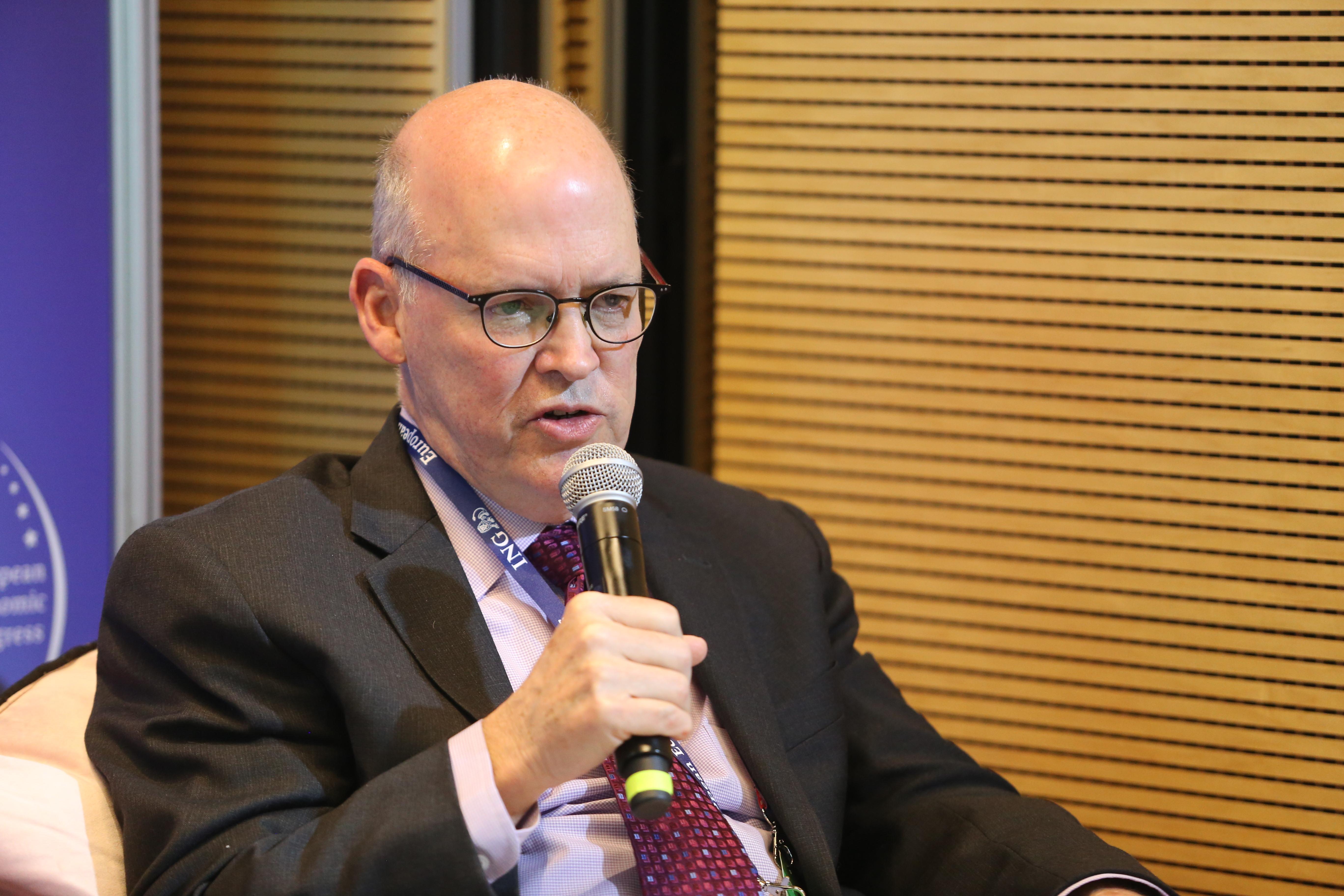 Gary Schmitt z American Enterprise Institute (fot. PTWP)