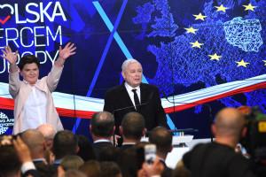 Tak PiS świętował zwycięstwo w wyborach do Parlamentu Europejskiego