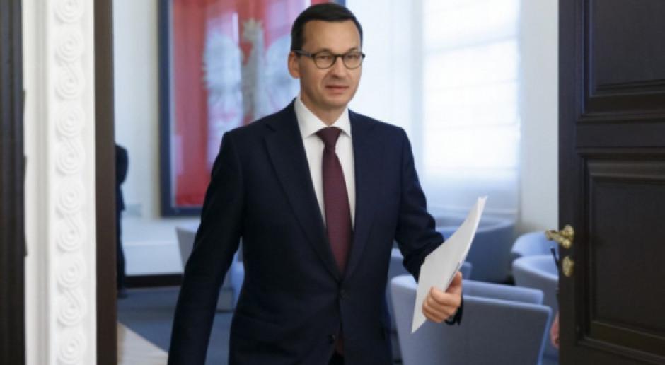 W  przyszłym tygodniu spotkania premiera Morawieckiego z szefami resortów