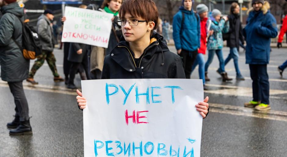 Rosyjskie władze wypowiedziały się na temat suwerennego krajowego internetu