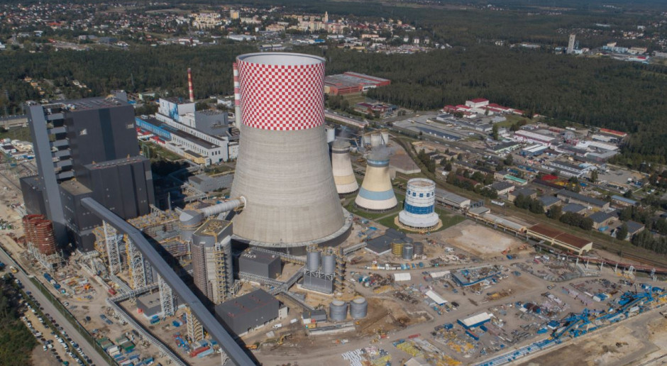 Blok 910 MW w Elektrowni Jaworzno zostanie ukończony w styczniu 2020 r.