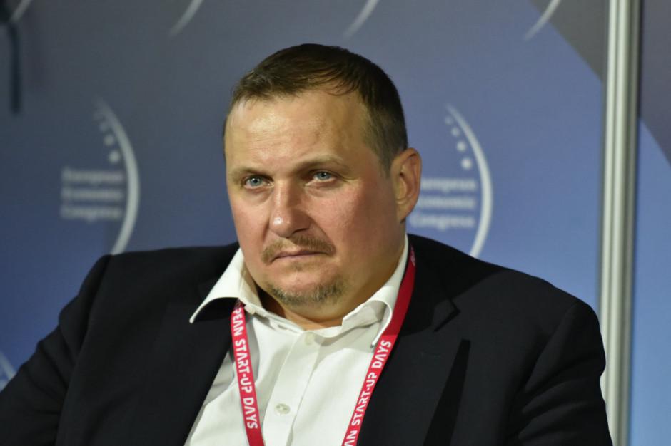 Marcin Lewandowski, prezes Polskiej Izby Handlowej w Holandii. Fot. PTWP