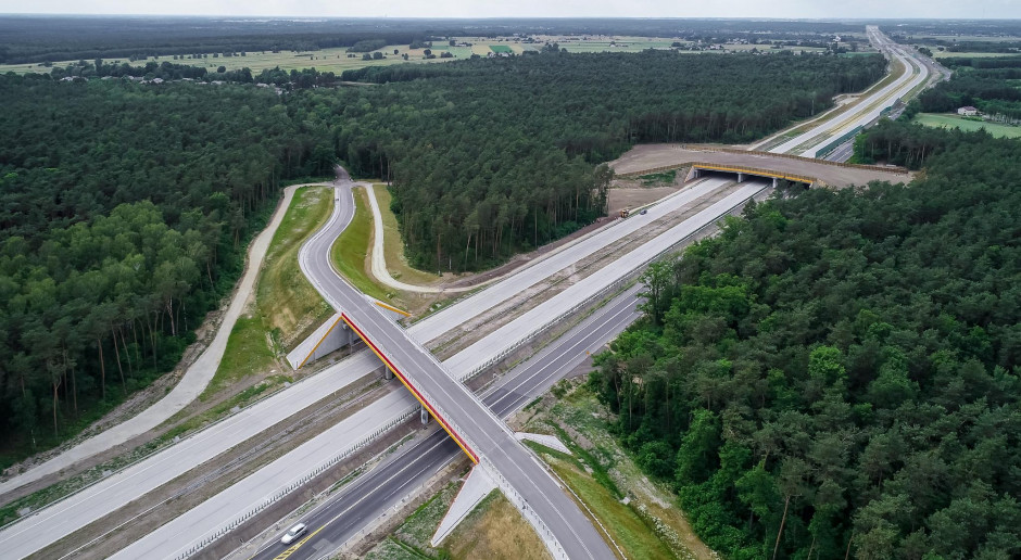 Droga ekspresowa S17 Skrudki - Kurów Zachód gotowa