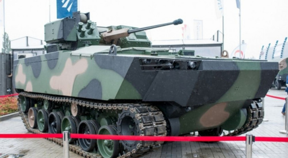 Borsuk ma być nowoczesną konstrukcją, nafaszerowaną mnóstwem elektroniki, wyposażoną w zautomatyzowane systemy obrony, fot. HSW