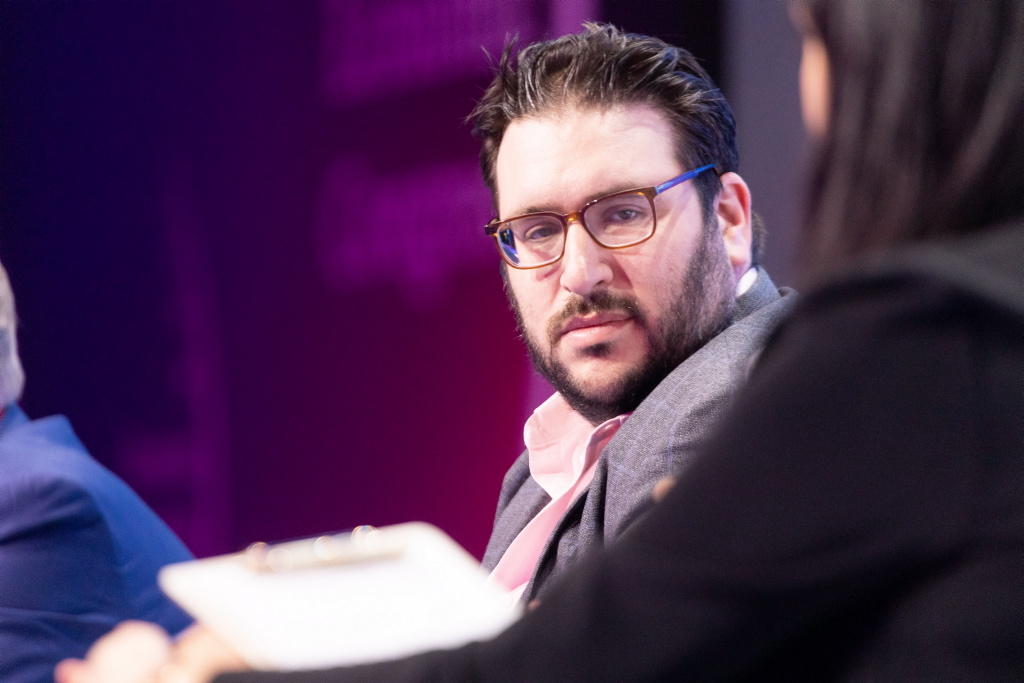 Josh Liggett, Senior Investment Analyst, Fintech/Blockchain Lead, OurCrowd (fot. PTWP)