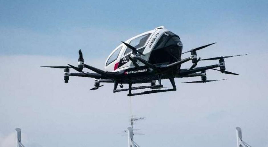 """#AzjaTech. EHang testuje latające """"dostawczaki"""""""
