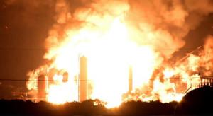 Płonie jedna z najstarszych amerykańskich rafinerii