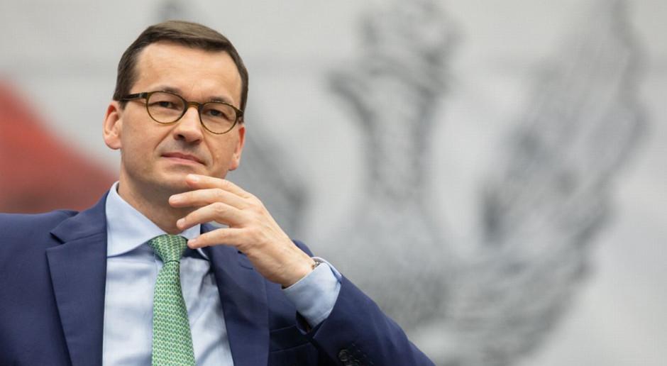Mateusz Morawiecki zapowiada wielkie projekty stymulujące gospodarkę