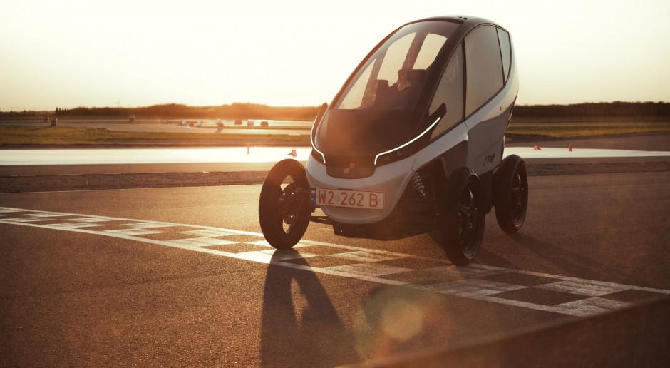 Torowe testy polskiego pojazdu elektrycznego
