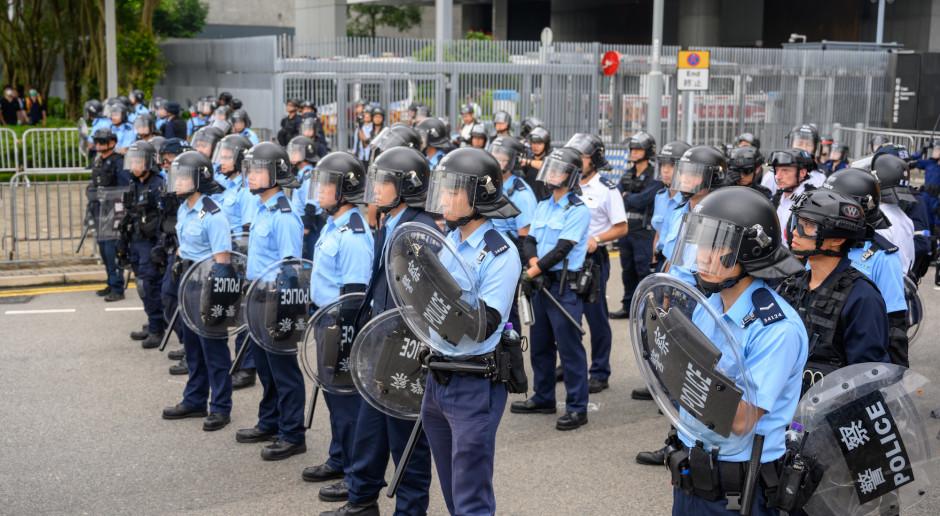 Amerykanie kończą z eksportem sprzętu obronnego do Hongkongu