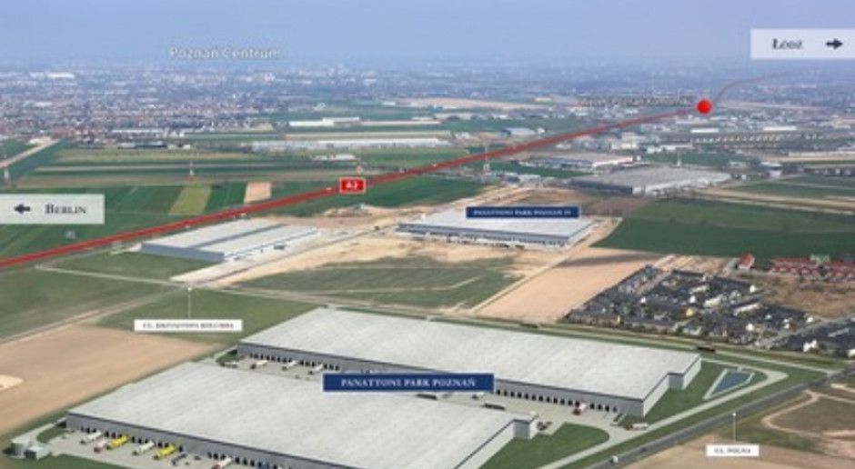 Kolejne inwestycje Panattoni w Wielkopolsce