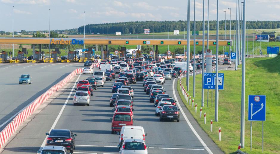 Andrzej Adamczyk zainaugurował działanie AmberGO na autostradzie A1