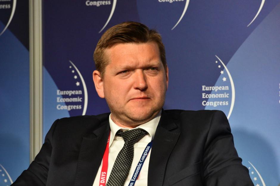 Janusz Gajowiecki, prezes Polskiego Stowarzyszenia Energetyki Wiatrowej (PSEW). Fot. PTWP