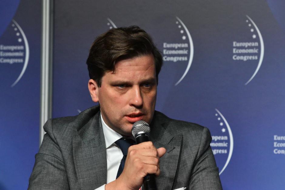 Grzegorz Należyty, członek zarządu i dyrektor Gas and Power w Siemensie. Fot. PTWP