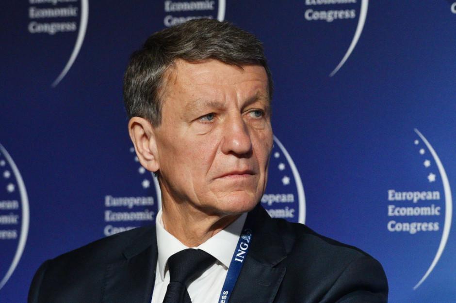 Andrzej Czerwiński, poseł Platformy Obywatelskiej, były minister skarbu państwa. Fot. PTWP