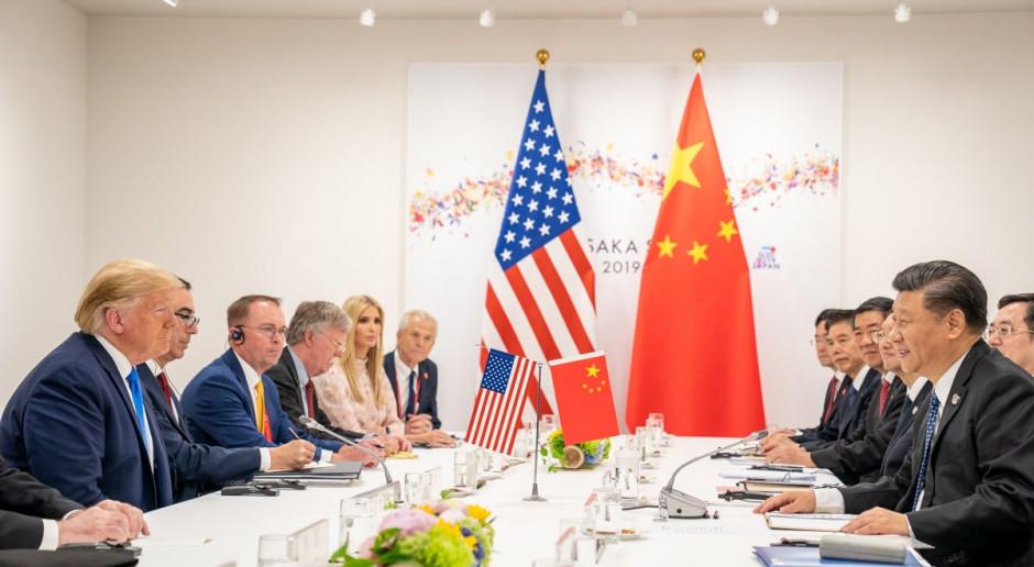 Donald Trump: USA negocjują z Chinami nowe warunki handlu