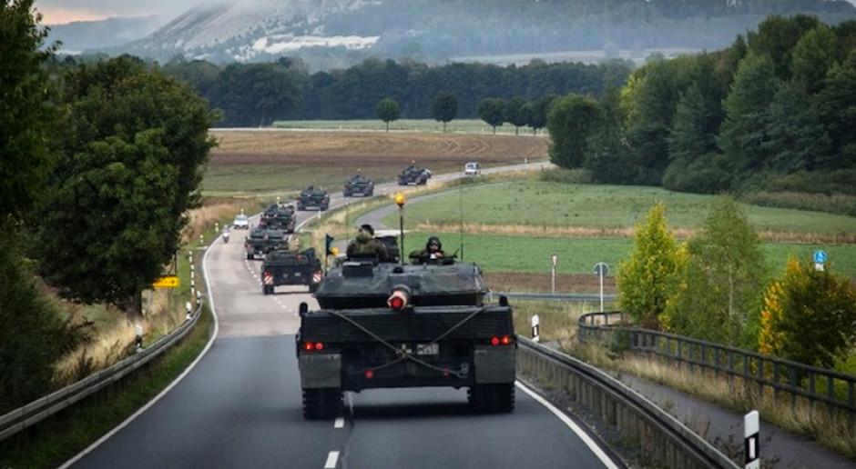 Leopardy służące w niemieckiej armii będą modernizowane, fot. Andreas Flachowsky