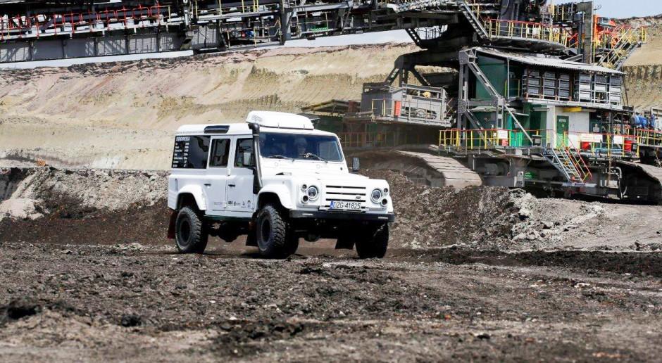 """W kopalni Turów testują samochód elektryczny """"Sokół"""""""